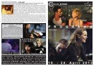 18. - 24. April 2013 P R O G R A M M - Central-Kino
