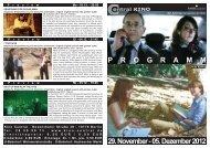 29. November - 05. Dezember 2012 P R O G R A M M - Central-Kino