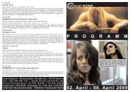 02. April - 08. April 2009 P R O G R A M M - Central-Kino