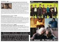 31. Januar - 06. Februar 2013 P R O G R A M M - Central-Kino