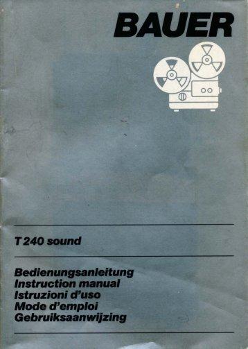 T240 sound - Kinobauer.de