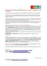 presseinformation open air kino 2013 - Kino im Kesselhaus
