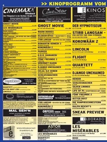 Plakat KinoJournal 8/2013