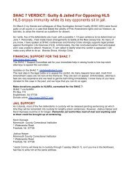 SHAC 7 VERDICT: Guilty & Jailed For Opposing ... - Kinship Circle