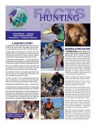 FACTS: Hunting - Kinship Circle