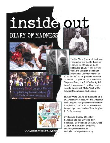 Inside/Out: Diary Of Madness - Kinship Circle