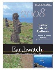 Easter Island Cultures - Data Error