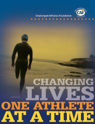 CAF Info Kit - Challenged Athletes Foundation