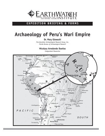 Archaeology of Peru's Wari Empire