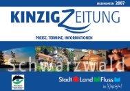 preise, termine, informationen mediadaten 2006 - bei der Kinzig ...