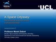 A Space Odyssey: