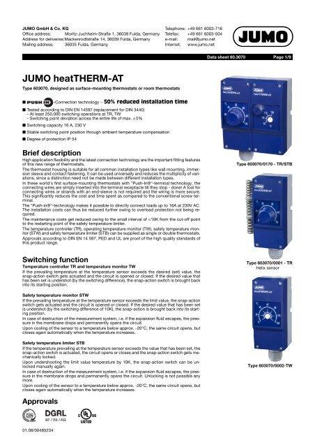 JUMO heatTHERM-AT