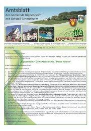 Detaillierte Informationen finden Sie in unserem ... - Kippenheim