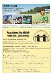 KW15/2013 - Kippenheim