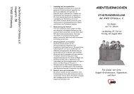 Flyer und Anmeldung Stadtranderholung - Kippenheim