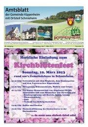 KW10/2013 - Kippenheim