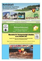 KW50/2013 - Kippenheim