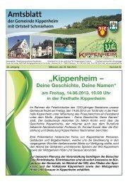 KW22/2013 - Kippenheim