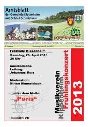KW16/2013 - Kippenheim