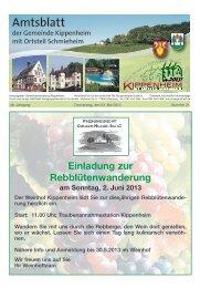 KW21/2013 - Kippenheim