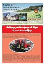 KW14/2013 - Kippenheim