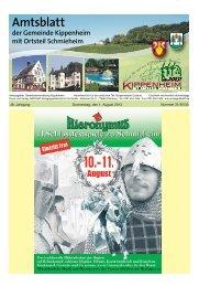 KW31/32/33/2013 - Kippenheim