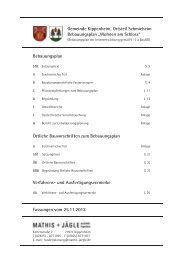 Gemeinde Kippenheim, Mrtsteil Schmieheim Bebauungsplan ...
