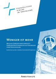Weniger ist mehr (PDF) - oeku Kirche und Umwelt