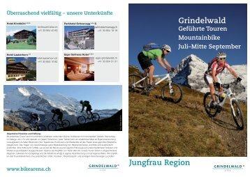 Touren 2013 PDF - Hotel Kirchbühl Grindelwald