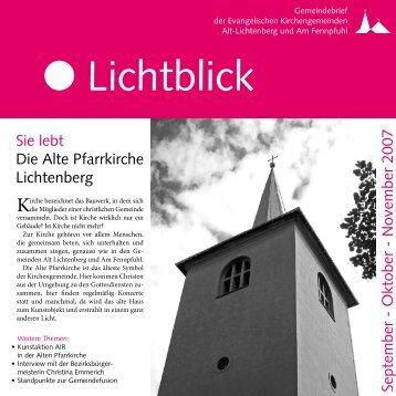 Lichtblick - Evangelische Kirchengemeinde Alt-Lichtenberg
