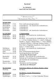 Daun St. Nikolaus - Pastoraler Raum Daun