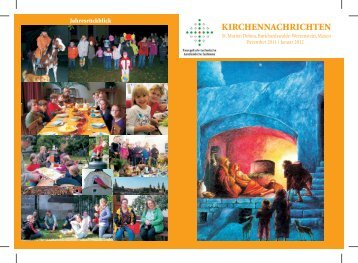 Dez/Jan (2012) - Kirchgemeinde Dohna