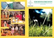 Apr/Mai - Kirchgemeinde Dohna