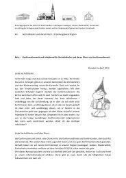 Begrüßungsbrief Sechstklässler 2013 - Ev.-Luth. Kirchgemeinde ...