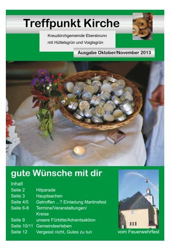 Oktober / November 2013 - Ev.-Luth. Kirchgemeinden Ebersbrunn ...