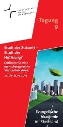 Tagung 9 - Evangelische Akademie im Rheinland