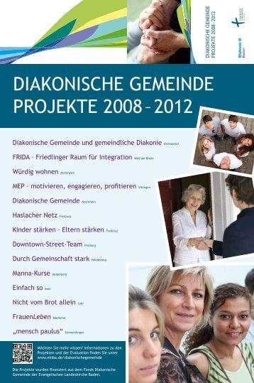 diakonische gemeinde projekte 2008 – 2012 - Evangelische ...
