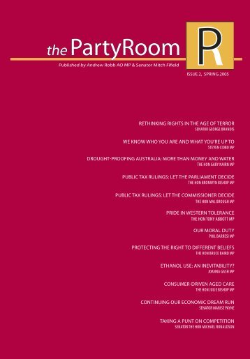 the PartyRoom - Issue 2 - Spring 2005