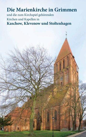 Die Marienkirche in Grimmen - Kirche Grimmen * Evangelische ...