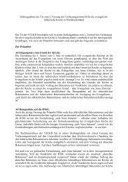 Zur 2. Fassung des Verfassungsentwurfes - Evangelische Kirche im ...