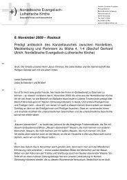 Bischof Gerhard Ulrich (Schleswig) in Rostock - Evangelische ...