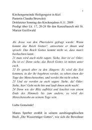 Claudia Bruweleit (Kiel) in St. Marien, Greifswald - Evangelische ...