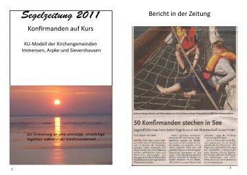 Segelzeitung 2011 - Kirchengemeinde Arpke