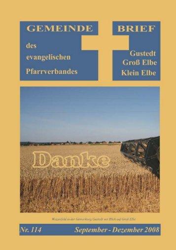 Als PDF (ca. 1 MB) - Predigten und Kindergottesdienst aus der ...