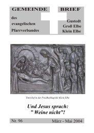 Gemeindebrief 96 PDF - Predigten und Kindergottesdienst aus der ...