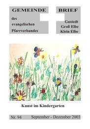 Gemeindebrief 94 PDF - Predigten und Kindergottesdienst aus der ...