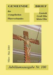 Unsere Jubiläumsausgabe - Predigten und Kindergottesdienst aus ...