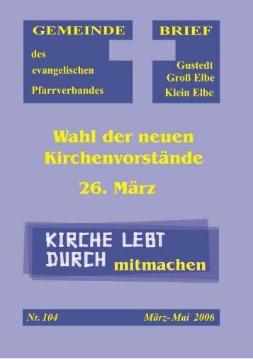 PDF (500kb) - Predigten und Kindergottesdienst aus der ...