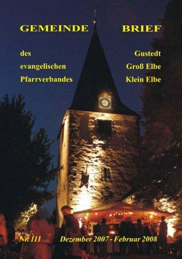 Als PDF (1,6MB) - Predigten und Kindergottesdienst aus der ...