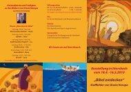 Bibelaustellung Gisela Harupa - Evangelische Kirchengemeinde ...